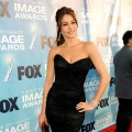Sofia Vergara arrives at the 42nd NAACP Image Awards held at The Shrine Auditorium in LA on March 4, 2011