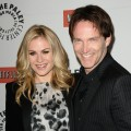"Anna Paquin and Stephen Moyer hit the red carpet at PaleyFest 2011 for ""True Blood"" at the Saban Theatre, Beverly Hills, on March 5, 2011"
