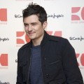 Orlando Bloom presents the new Orange Boss Man&#8217; fragrance at El Corte Ingles store in Madrid, Spain on March 16, 2011 