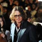 "Johnny Depp attends the Japan premiere of ""The Tourist"" at Roppongi Hills Arena in Tokyo on March 3, 2011"
