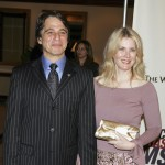 Tony Danza and wife Tracy arrive at the 12th Annual &#8216;Rock and Royalty to Erase MS&#8217; and Tommy Hilfiger Fashion Show at the Century Plaza Hotel on April 22, 2005 in LA