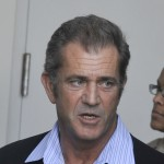 Mel Gibson leaves the Los Angeles Courthouse Airport branch after entering into a plea agreement on March 11, 2011