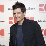 Orlando Bloom presents the new Orange Boss Man' fragrance at El Corte Ingles store in Madrid, Spain on March 16, 2011
