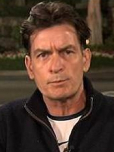 "Charlie Sheen appears in an interview on the ""Today"" show on March 2, 2011"