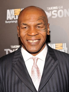 "Mike Tyson attends the ""Taking on Tyson"" New York premiere at Gansevoort Park Avenue, NYC, on March 2, 2011"