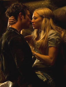 "Shiloh Fernandez and Amanda Seyfried in ""Red Riding Hood,"" 2011"