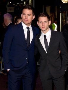 "Channing Tatum and Jamie Bell attend the UK Premiere of ""The Eagle"" at the Empire Leicester Square in London on March 9, 2011"