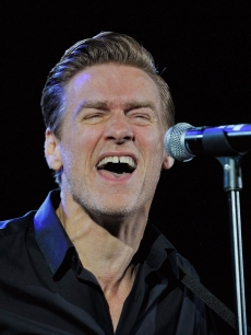 Bryan Adams performs onstage during A Concert For Killing Cancer at Hammersmith Apollo, London, on January 13, 2011