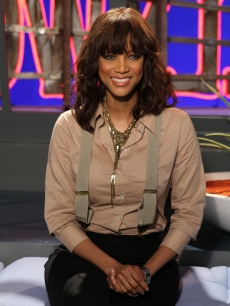 Tyra Banks stops by Access Hollywood Live on March 15, 2011