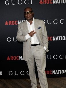 Producer L.A. Reid arrives at the Gucci and Roc Nation Pre-GrammyY brunch held at Soho House on February 12, 2011 in West Hollywood, Calif.