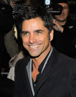 "John Stamos attends the opening night of ""That Championship Season"" at The Bernard B. Jacobs Theatre in New York City on March 6, 2011"