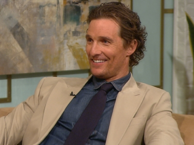 Matthew McConaughey stops by Access Hollywood Live on March 16, 2011
