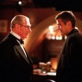 George Clooney and Michael Gough in Warner Bros.&#8217; &#8220;Batman &amp; Robin&#8221; (1997)