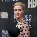 "Kate Winslet attends the ""Mildred Pierce"" premiere at the Ziegfeld Theatre in New York City on March 21, 2011"