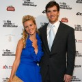 Abby McGrew and Eli Manning attend the 36th Film Society of Lincoln Center's Gala Tribute at Alice Tully Hall in NYC on April 27, 2009