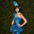 "Selena Gomez attends Perez Hilton's ""Blue Ball"" birthday celebration in Hollywood on March 26, 2011"