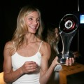 Cameron Diaz with her Female Star of the Year award during CinemaCon, the official convention of the National Association of Theatre Owners, at The Colosseum of Caesars Palace, Las Vegas, March 30, 2011