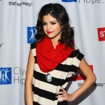 "Selena Gomez arrives at the 3rd Annual ""Concert For Hope"" at The Gibson Ampitheater in Universal City, Calif. on March 20, 2011"