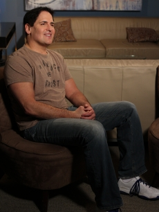Mark Cuban stops by the set of Access Hollywood Live for an interview on March 22, 2011