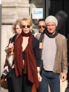 Sting and Trudie Styler step out in Paris, France on March 25, 2011