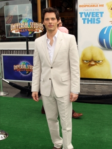James Marsden walks the green carpet at the premiere of  &#8220;Hop&#8221; in Universal City, Calif., on March 27, 2011