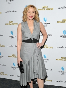Kim Cattrall attends the &#8220;Meet Monica Velour&#8221; premiere at Landmark&#8217;s Sunshine Cinema, NYC, March 29, 2011