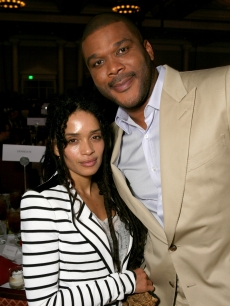 Lisa Bonet and Tyler Perry attend CinemaCon at Caesars Palace, Las Vegas, March 31, 2011