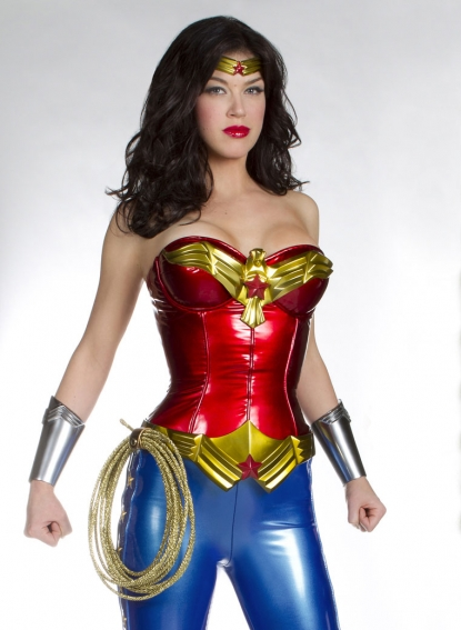 "Adrianne Palicki starring as the title character in NBC's pilot ""Wonder Woman,"" from executive producer David E. Kelley"