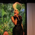 Nicki Minaj performs during the Green Auction: A Bid To Save The Earth at Christie's on March 29, 2011 in New York City