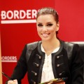 Eva Longoria promotes her new book &#8220;Eva&#8217;s Kitchen&#8221; at Borders Columbus Circle in New York City on April 4, 2011 