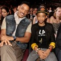 Will Smith and son Jaden Smith attend Nickelodeon's 24th Annual Kids' Choice Awards at USC's Galen Center, Los Angeles, April 2, 2011