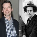"Sean Hayes/Larry Fine of ""The Three Stooges"""