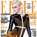 Gwen Stefani on one of the covers of ELLE's May Music Issue