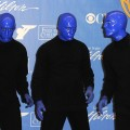 The Blue Man Group poses in the press room at the 37th Annual Daytime Entertainment Emmy Awards held at the Las Vegas Hilton in Las Vegas on June 27, 2010 