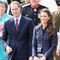 Prince William and Kate Middleton visit Whitton Park in Darwen, England on April 11, 2011