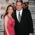 Diane Lane and James Gandolfini attend the premiere of HBO Films&#8217; &#8220;Cinema Verite&#8221; at the Paramount Theater in Hollywood, Calif. on April 11, 2011 