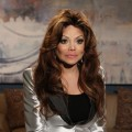 LaToya Jackson poses backstage on the set of Access Hollywood Live on April 12, 2011