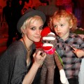 Ashlee Simpson attends the launch of Lucky Kids Magazine held at Siren Studios on April 7, 2011 in Hollywood