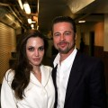 "Angelina Jolie and Brad Pitt spotted backstage after the opening night performance of ""God of Carnage"" at Center Theatre Group's Ahmanson Theatre in Los Angeles on April 13, 2011"