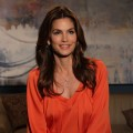 Cindy Crawford visits Access Hollywood Live on April 14, 2011