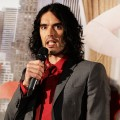 "Russell Brand attends the Australian premiere of ""Arthur"" at Event Cinemas Bondi Junction on April 15, 2011 in Sydney, Australia"
