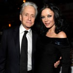 Michael Douglas and Catherine Zeta-Jones attends a dinner for the 26th annual Rock and Roll Hall of Fame Induction Ceremony at The Waldorf-Astoria on March 14, 2011 in New York City