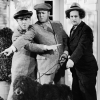 &#8220;The Three Stooges&#8221; - Moe Howard, Curly Howard and Larry Fine