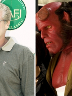 Ron Perlman as &#8220;Hellboy&#8221;