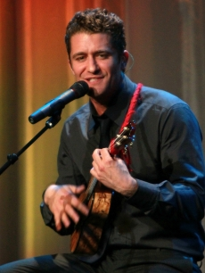 "Matthew Morrison performs on stage at UCLA's Jonsson Cancer Center Foundation's ""2011 Taste for a Cure"" at the Beverly Wilshire Hotel in Beverly Hills, Calif. on April 15, 2011"