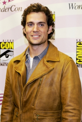 "Henry Cavill from the cast of ""Immortals"" attends Wondercon 2011 at Moscone Center in San Francisco, Calif., on April 2, 2011"
