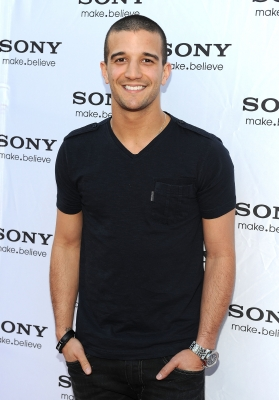 Mark Ballas arrives at the New Sony Store Concept Unveiling and Grand Opening at Sony Store in Century City, Calif. on March 30, 2011 