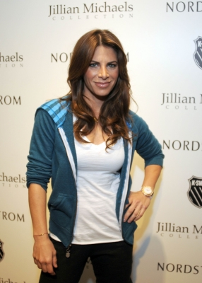 Jillian Michaels at the launch of Jillian Michaels' apparel collection by K-Swiss at Nordstrom at the Grove on April 14, 2011 in Los Angeles