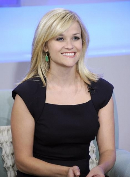 "Reese Witherspoon promotes ""Water for Elephants"" on ""Good Morning America,"" New York, April 18, 2011"