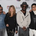 apl.de.ap, Fergie, will.i.am and Taboo of The Black Eyed Peas attend the Peapod Adobe Youth Voices Academy launch at Urban Arts Partnership in New York City, on April 19, 2011